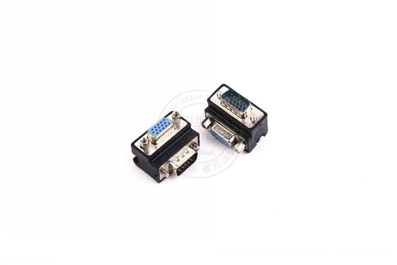 VGA adapter VGA15 male to 15 female head quarter turn prolong the joint computer monitors