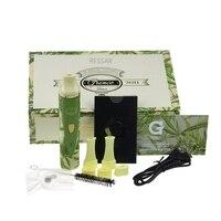 5pcs Lot Floral Dry Herbal Vaporizer Electronic Cigarette Kit Snoop Dogg Dry Herb Vaporizer E Cigs