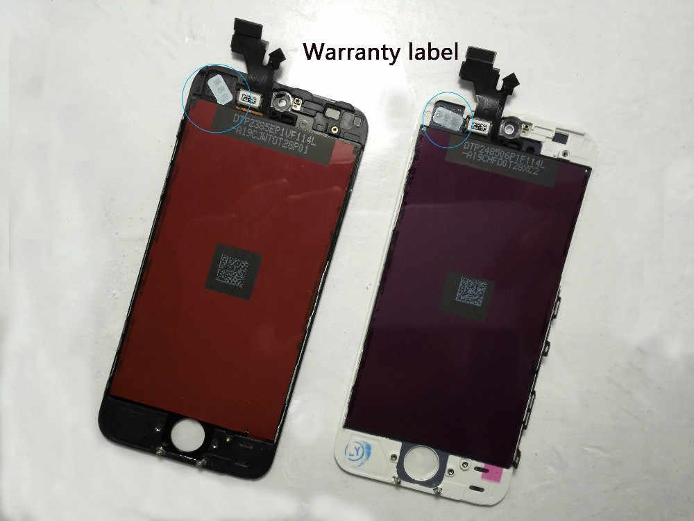 100% A +++ คุณภาพสำหรับ iPhone 6 LCD หน้าจอเปลี่ยน Digitizer สำหรับ iPhone 5S 6 S หน้าจอ LCD สำหรับ iPhone 7