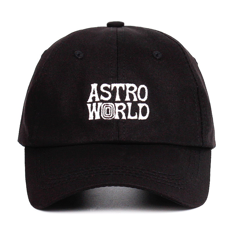 ASTROWORLD Travi$ Scott Dad Hat latest album 100% Cotton Snapback Hat embroidery Astroworld   Baseball     Caps   Unisex Travis Scott