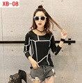 Slim wild women 's bottoming shirt warm autumn long - sleeved women' s t - shirt fashion new do279