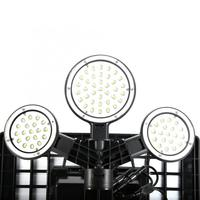 LED Solar Street Light 75LED Ultra Long Distance Remote Control Outdoors Solar Sensor Street Light