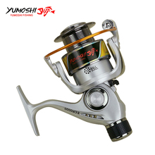 Yumoshi Fishing Reels Back Brake Wheel ECR2000 – 7000 Seris Lure Coil Metal Rocker Arm Spinning Reels