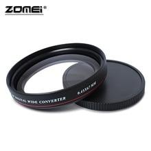 ZOMEI Siêu Mỏng UV72 40.5mm 49mm 52mm 55mm 58mm 62mm 67mm 72mm 77mm 0.45X Góc Rộng Lọc Ống Kính cho Máy Nikon Canon SLR Camera