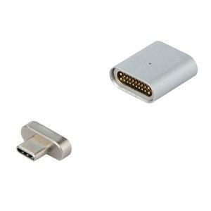 Image 4 - 20PIN Type c3.1 Full featured Magnetische Adapter Kan Gegevensoverdracht 4 K Video Transmissie Lezen U Schijf Sd kaart