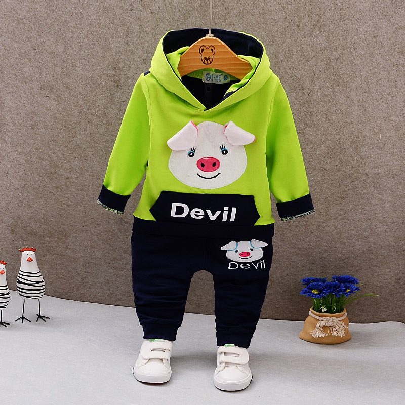 IENENS Spring Autumn Kids Boy Casual Clothing Outfits Baby Toddler Infant Boys Clothes Suits Children 39 s Sets Hooded Tops Pants in Clothing Sets from Mother amp Kids