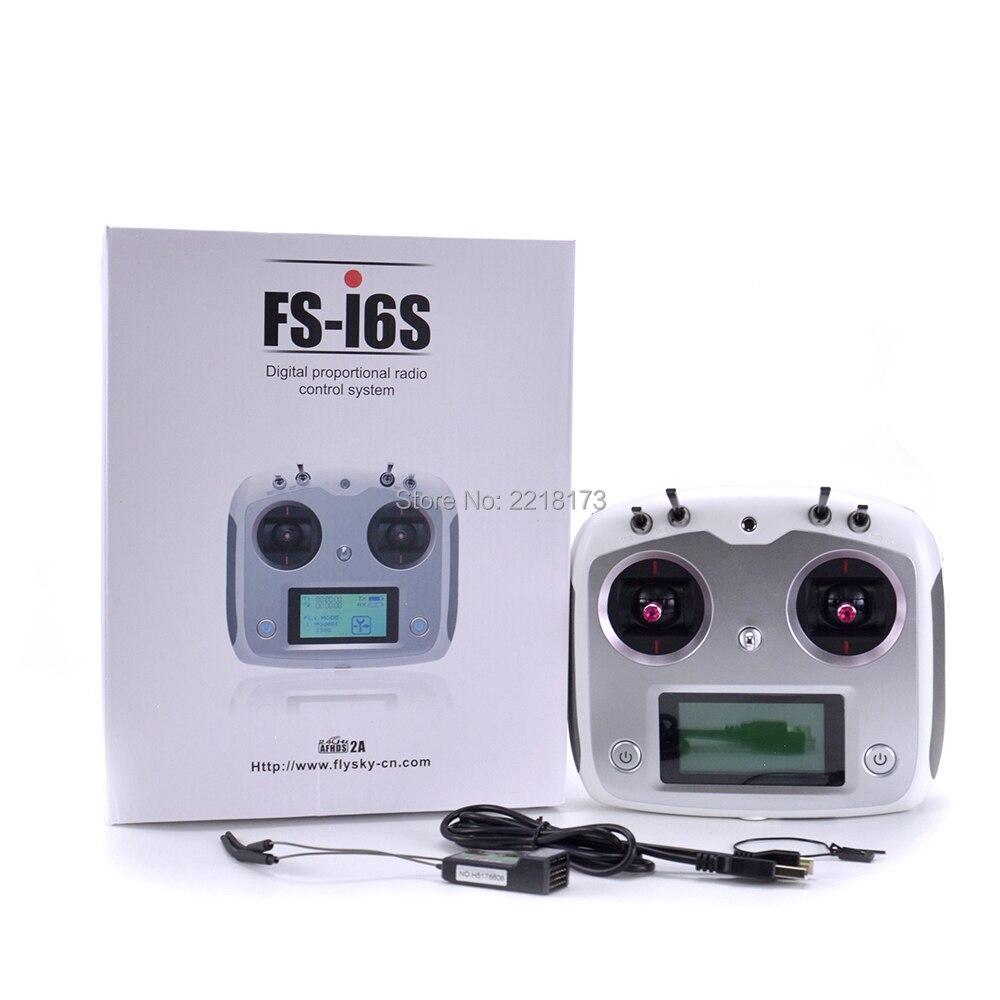 FlySky FS I6S FS-I6S Remote Controller 2.4G 6ch Radio Transmitter + iA6b Receiver for RC Quadcopter Drone drone flysky fs t6 2 4g 6ch tx rx fs r6b rc radio control transmitter receiver system