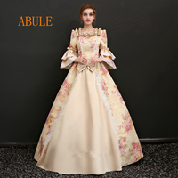 ABULE Fuffy Ball Gown red Quinceanera Dresses Long flowers taffeta lace up Vestidos De 15 Anos lace Prom Dress For Girls 2018