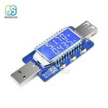 QC2.0 QC3.0 DC 4 V-28 V Digital USB Detector de potencia LCD electrónica Scam medidor de corriente de voltaje probador voltímetro amperímetro