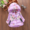 Girls Winter Coat Sale Cotton Jacket for Girl 2016 New Winter Coat Princess Jackets Kids for Teenage Girls Outerwear 0-2 Years