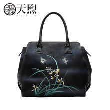 Pmsix high quality fashion luxury brand 2017 new handbag shoulder bag leather bag counter genuine, women's well-known brand