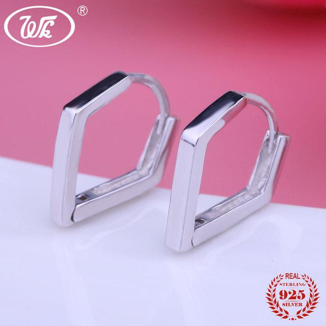 Genuine 925 Silver Earrings