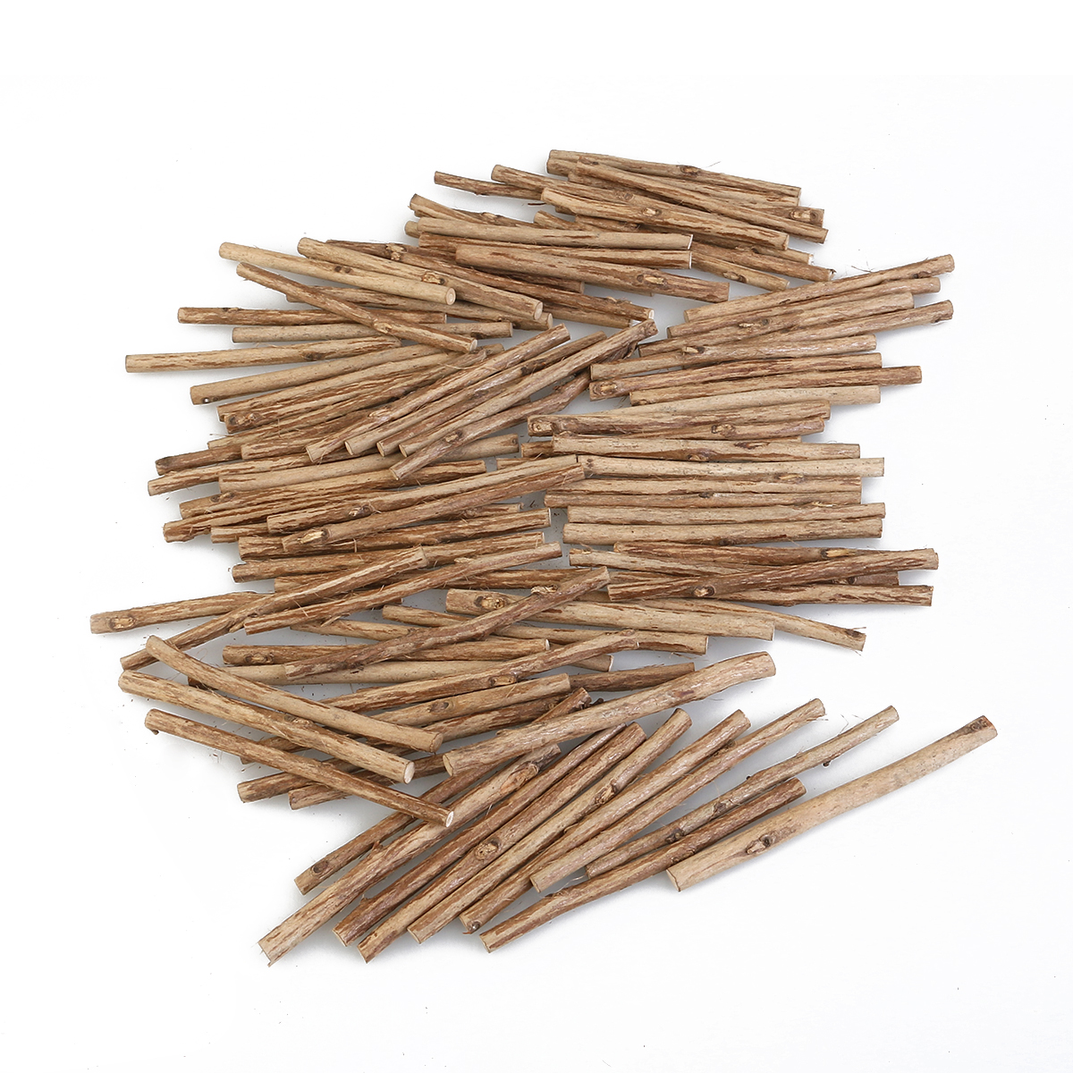 Long wooden craft sticks - 100pcs 10cm Long 0 5 0 8cm In Diameter Wood Log Sticks Diy Food Wood Crafts
