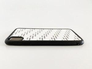 Image 2 - Manniya 2D Thăng Hoa Kính Cường Lực Cao Su Ốp Lưng Điện Thoại Iphone 11/11 Pro/11 Pro Max/X/XS/XR/XS Max 10 Cái/lốc