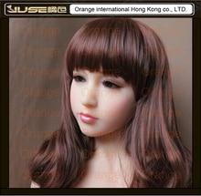 Top quality Japanese lifelike font b doll b font head for real love font b doll