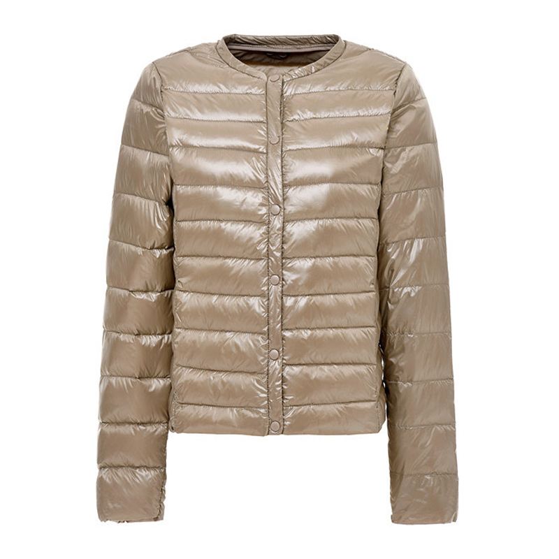 2020 New Ultra-Light Women Winter Coat 90% White Duck Down Jackets O-Neck Portable Down Coats Female Jacket Warm Outerwear