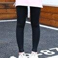 2016 new  autumn slim black and grey girl Leggings hot sale