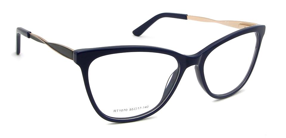 blue frame glasses
