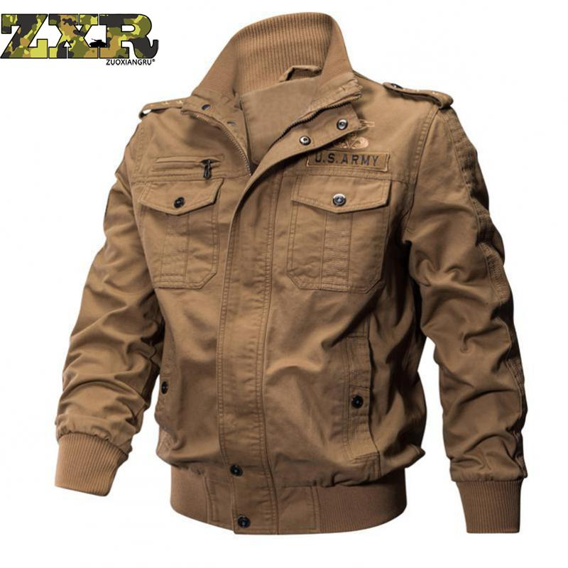 Man Winter Military Bomber Many Pocket Outdoor Sports Jacket for Man Army Tactical Jackets Autumn Waterproof Windbreakers Field