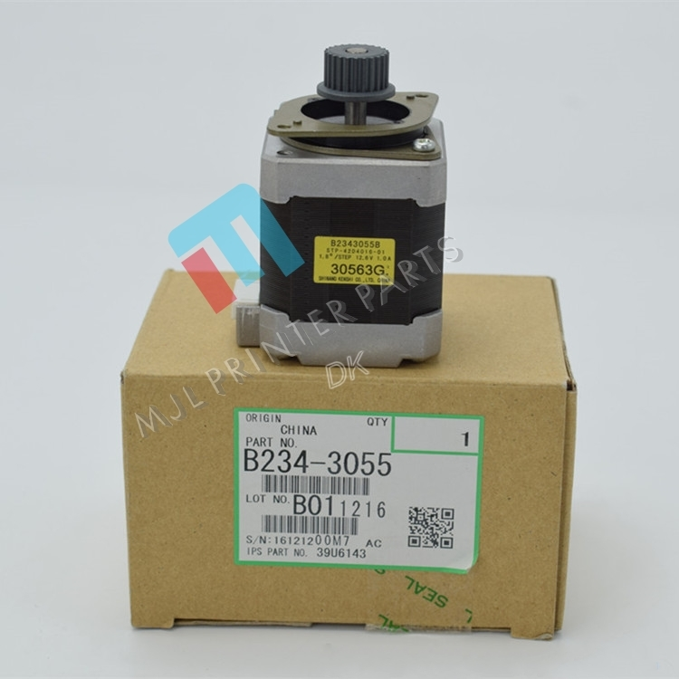 oem new B234-3055 DC Stepper Motor for ricoh MP1350 MP9000 MP1100 2 pcs transfer belt for ricoh mp1350 1100 9000 new imported b234 3971 b2343971