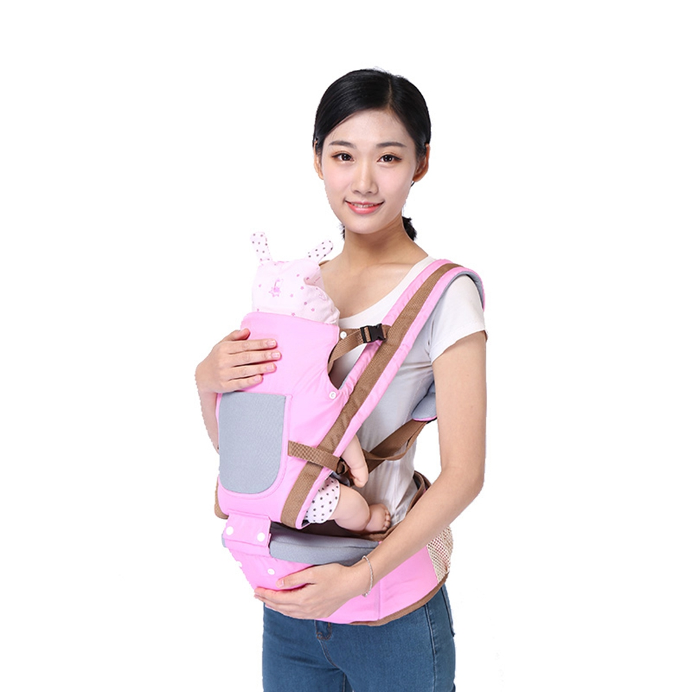Bethbear New Comfortable Breathable Infant Baby Multifunctional Baby Stool Suspender Pouch Baby Carrier Backpack Wrap Kangaroo