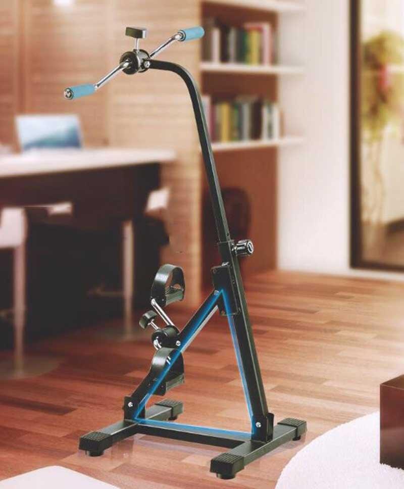 Mobilitätshilfen Hanriver 2018 Alten Mann Hemiplegic Schlaganfall Rehabilitation Ausbildung Fahrrad Beginn Von Hand Fuß Recovery Maschine