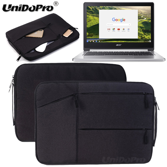 a248d5770152 US $14.39 28% OFF|Unidopro Classic Multifunctional Sleeve Briefcase Handbag  Case for Acer Chromebook CB3 111 C670 11.6