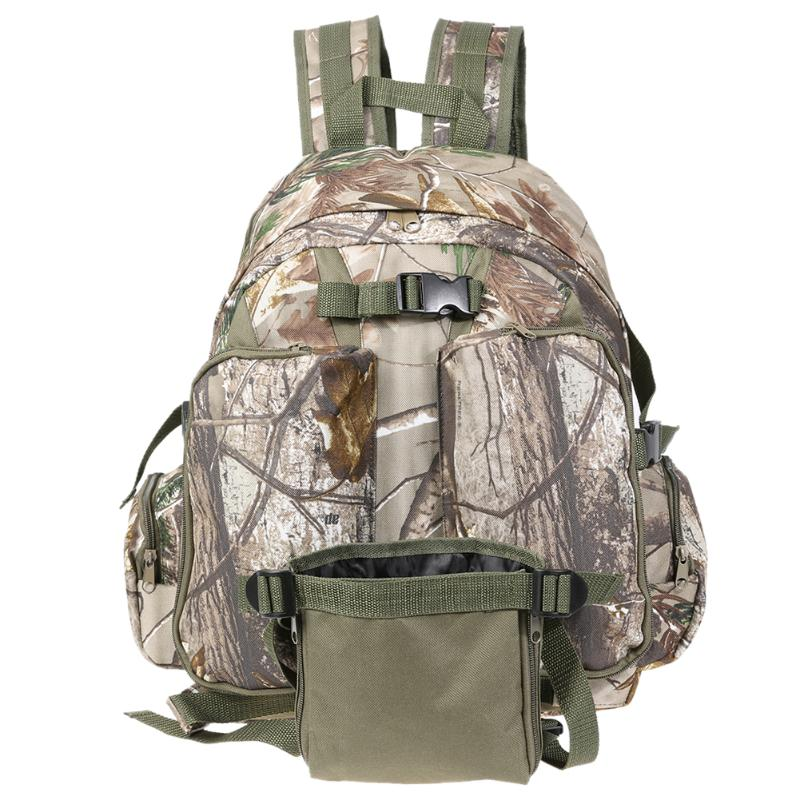 Super Large Camping Backpack Waterproof Oxford Sport Molle Bag Camouflage Outdoor Backpack Climbing Hiking Tactical Bag 3l tactical water bottle bag knapsack hydration backpack pouch hiking camping cycling pack canteen water bag molle