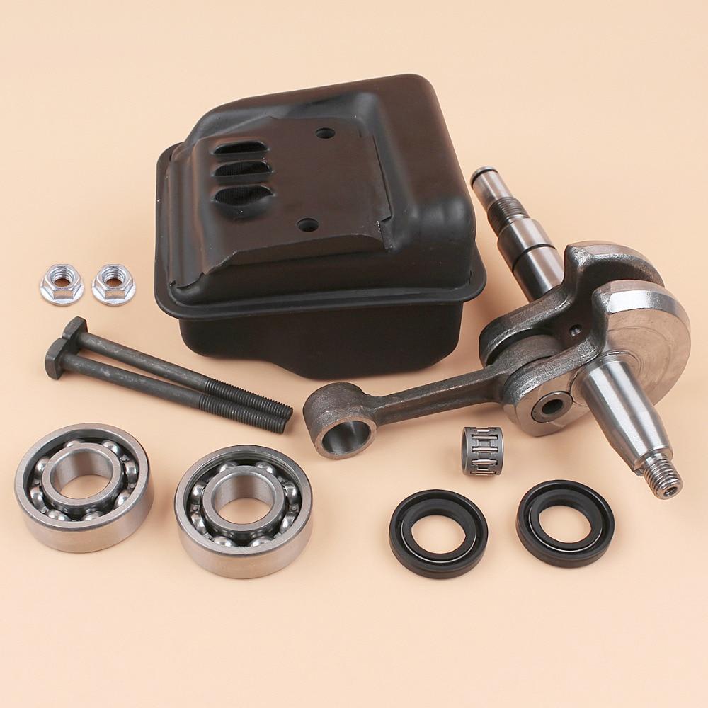 Crankshaft Crank Bearing Oil Seal /Muffler Bolt Kit Fit STIHL MS250 MS230 210 025 023 021 Chainsaw 11231400606, 1123 030 0408