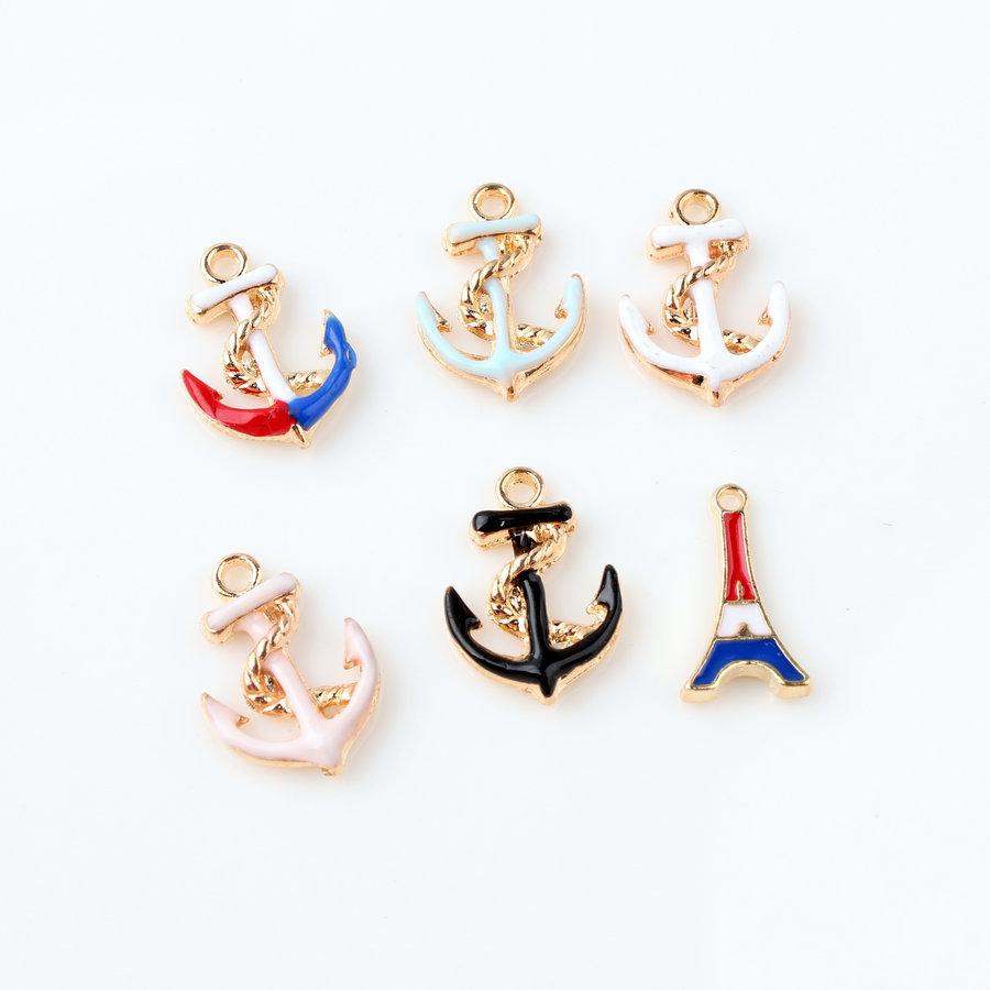Pendant Bracelete Charm Accessoires Jewelry-Making Keychain/anklet Metal for Wholesale