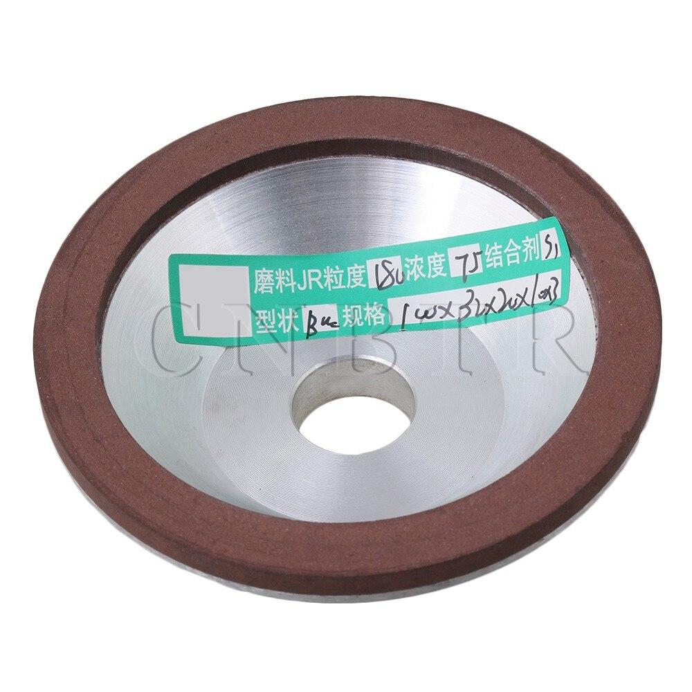 цена на CNBTR 100mm Diamond Grinding Wheel Cup 180 Grit Cutter Grinder for Carbide Metal