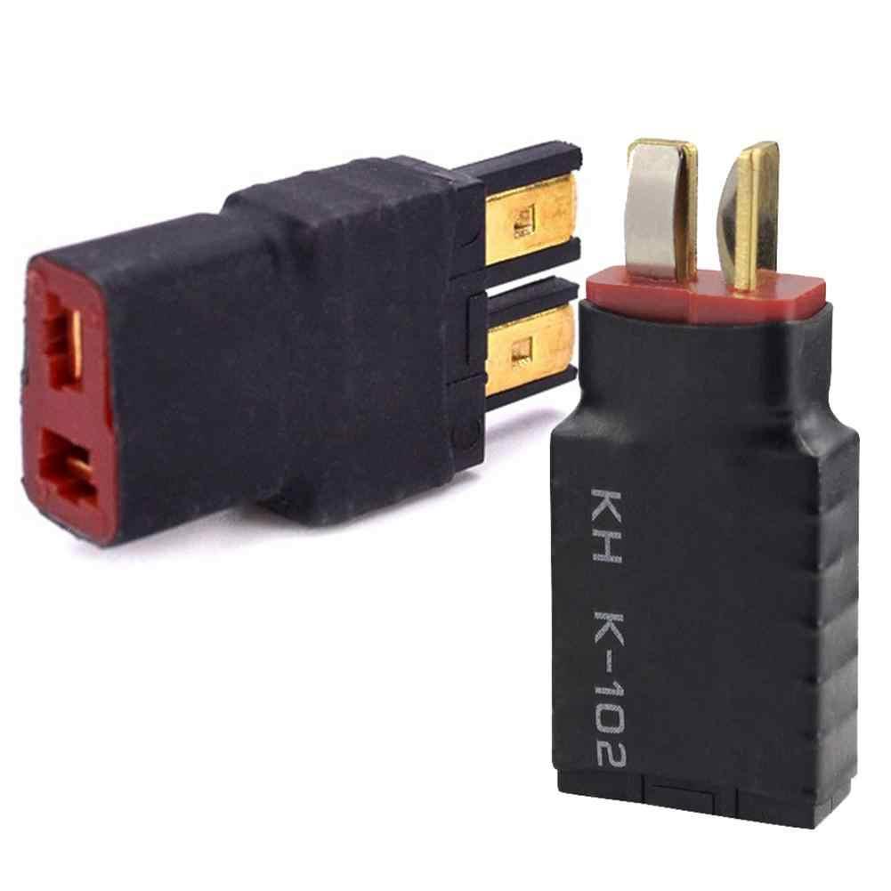 1 unidad macho t-plug Deans a hembra TRX Traxxas conector adaptador enchufe de conversión para batería RC ESC y cargador