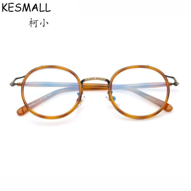 2018 Optical Light Glasses Frame Women Men Fashion Myopia Eyeglasses Frames Oculos De Grau Mens Gaming Glasses Frame YJ704