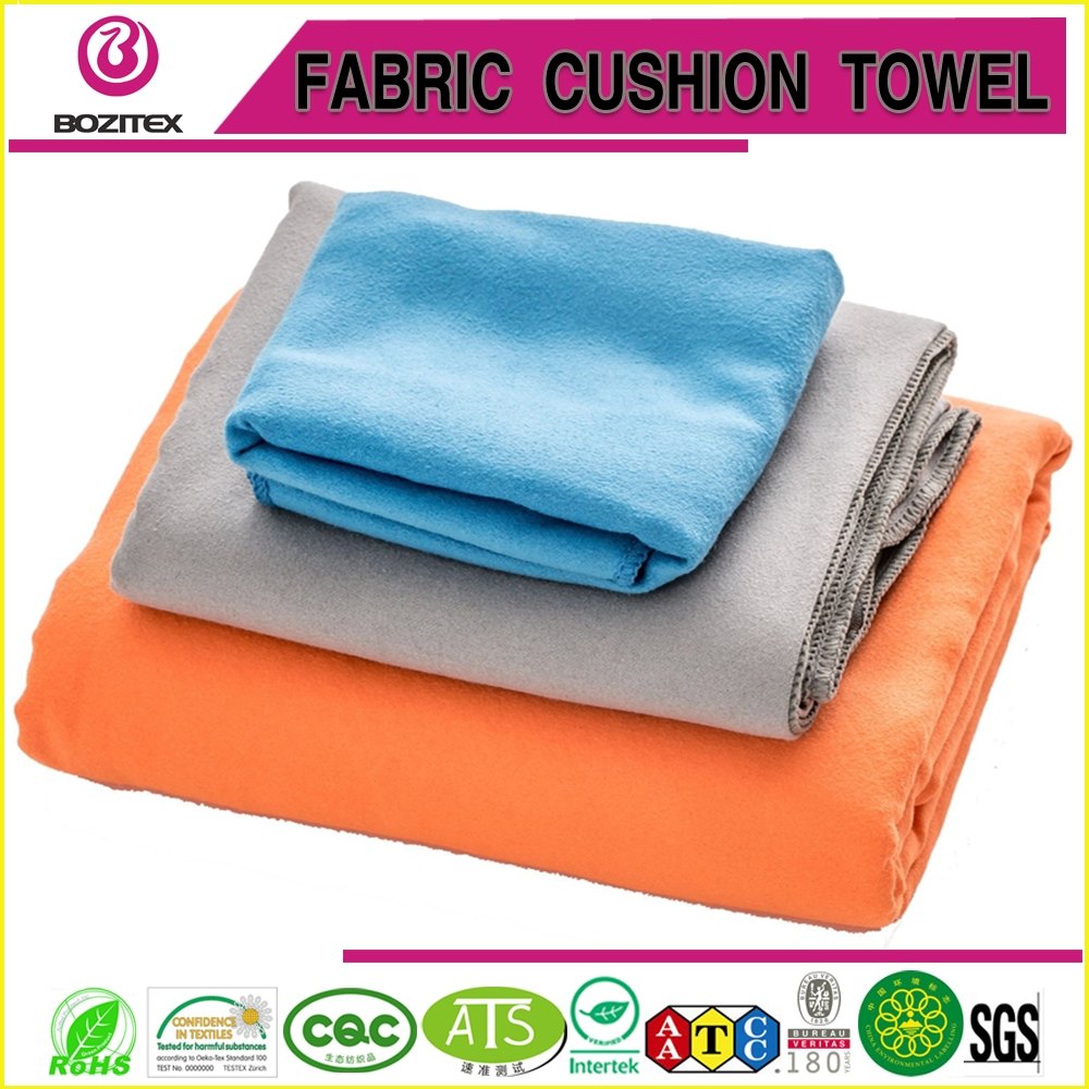 China Brand Right Microfiber Suede Towel Yoga Towel Beach