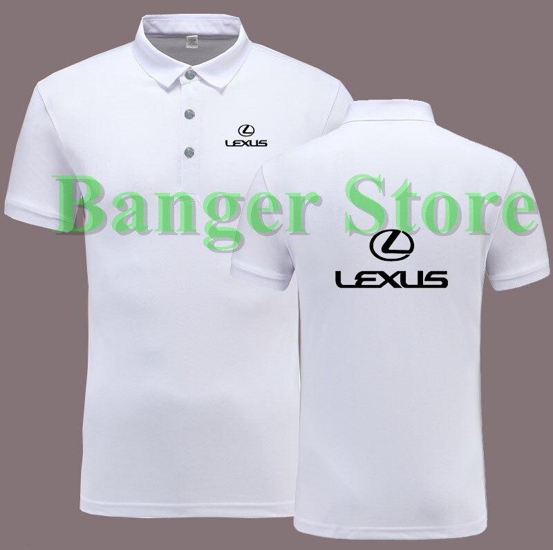 Lexus car standard 4s shop tooling custom polo shirt for The custom shirt shop