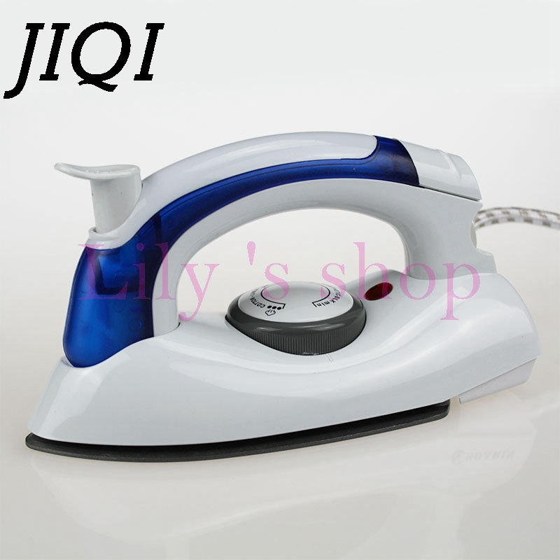 JIQI MINI Portable Foldable Electric garment iron Handheld travelling sprayer clothes steamer flatiron 4 gears 220V-240V EU plug jiqi mini handheld electric clothes steaming iron household travel garment steamer portable dormitory gift 110v 220v eu us plug