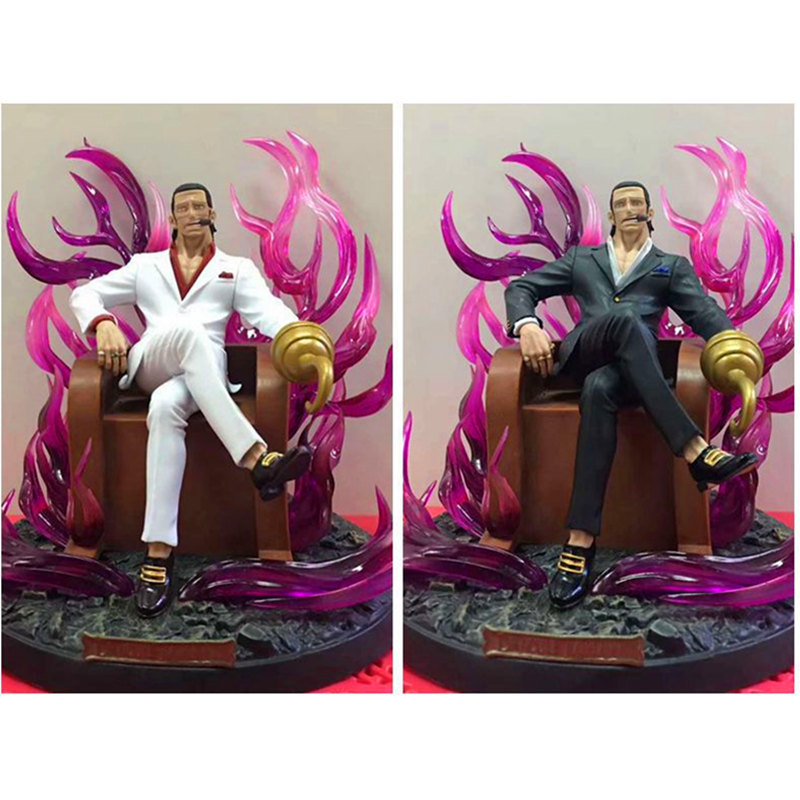 ONE PIECE Seven Warlords of the Sea Sir Crocodile Throne Sitting posture PVC Action Figure Collectible Model Toy Boxed 20cmONE PIECE Seven Warlords of the Sea Sir Crocodile Throne Sitting posture PVC Action Figure Collectible Model Toy Boxed 20cm