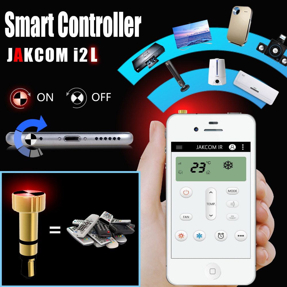 EastField Trading Company Jakcom Smart Remote Cell Phone Accessories Smart Home Replace Appliances infrared remote control i2L for iPhone i2A for Android