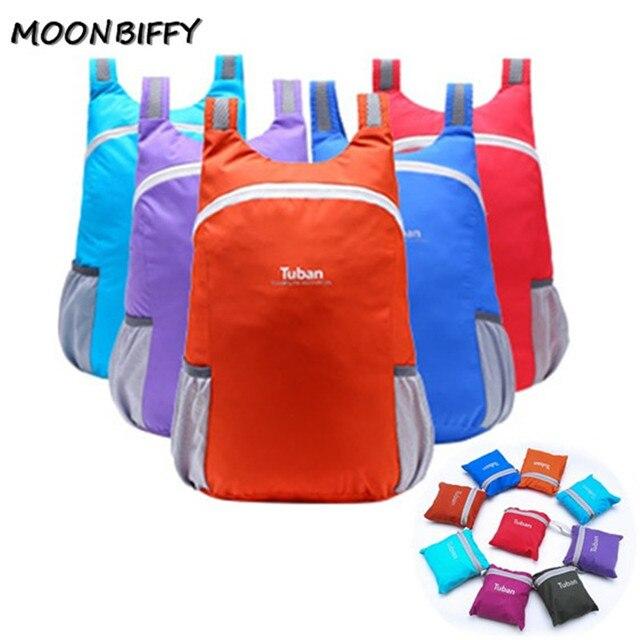 TUBAN Lightweight Nylon Foldable Backpack Waterproof Backpack Folding Bag Portable Men Women Backpack for Travel 1