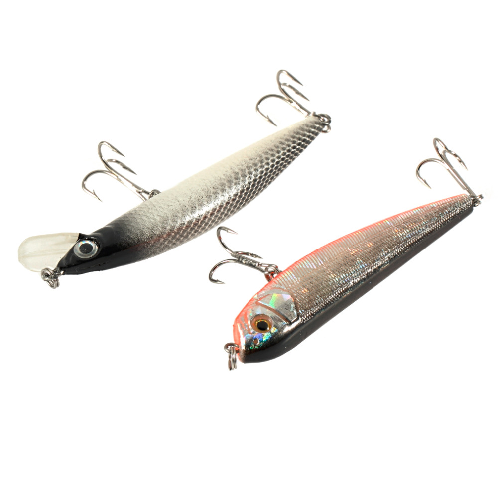 1pc cheap rattling floating fishing lure tackle with sharp for Fishing with jigs