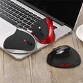 Fiable 2400 DPI gaming mouse ratón inalámbrico de Diseño Ergonómico Vertical del ratón Inalámbrico 6D 2400 DPI USB Ratones Del Ratón Para PC Portátil