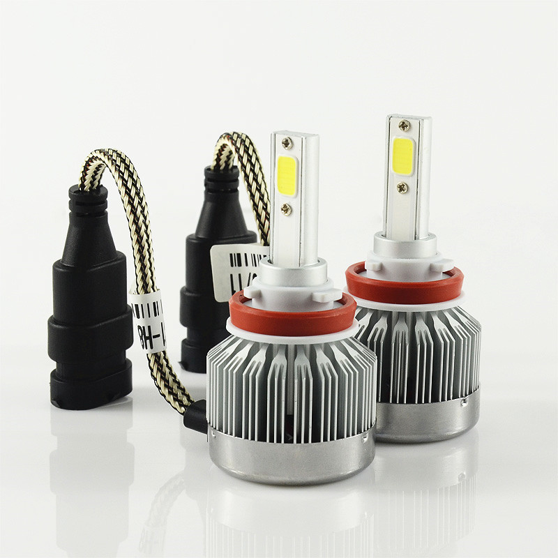 h1 h3 h4 h7 9005 HB3 9006 HB4 h8 H9 h11 h10 880 60W set 6000lm set Car LED HEADLIGHT HEADLAMP KIT CONVERSION HID