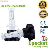 New 2XH7 11000LM 80W LED CAR Headlight Conversion Kit Plug Bulbs 6000K 3000K Yellow 10000K Light