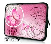 Hot Pink Butterfly 11 6 12 13 3 14 15 15 6 Laptop Bag Sleeve Case