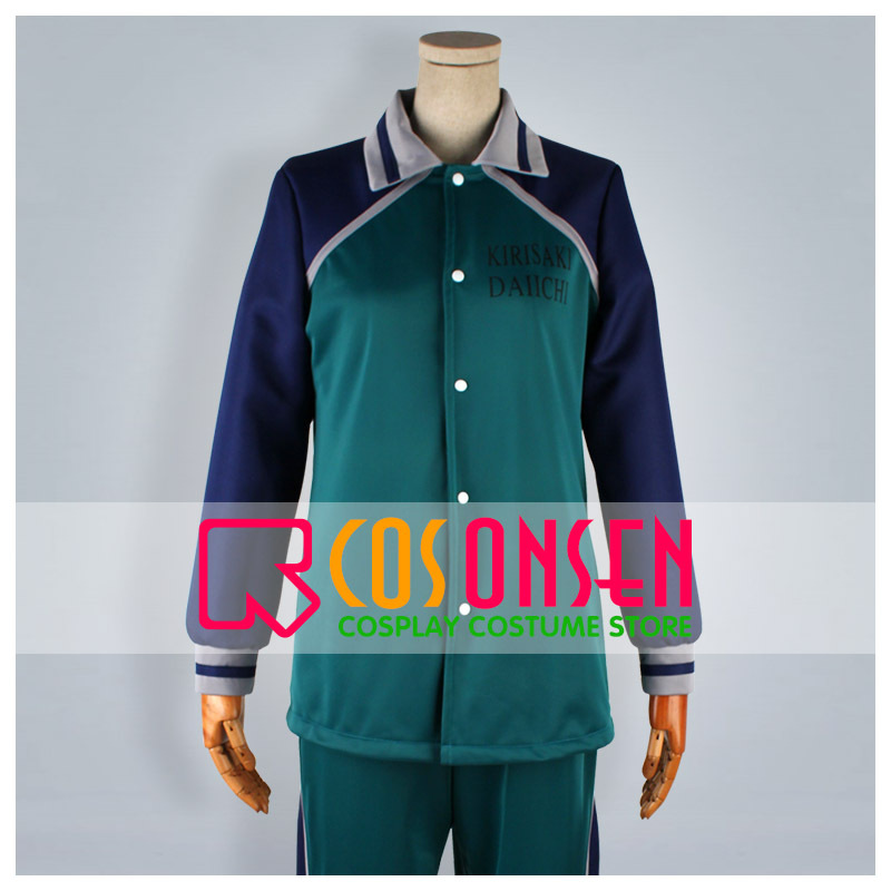 COSPLAYONSEN Kuroko's Basketball Kirisaki Daiichi High Makoto Hanamiya Sportswear Cosplay Costume 3 PCS