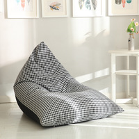 Lazy Sofa Cover Without Core Polyester Jacquard Casual Bedroom Modern Afternoon Nap Tatami Reading Chair High Quality