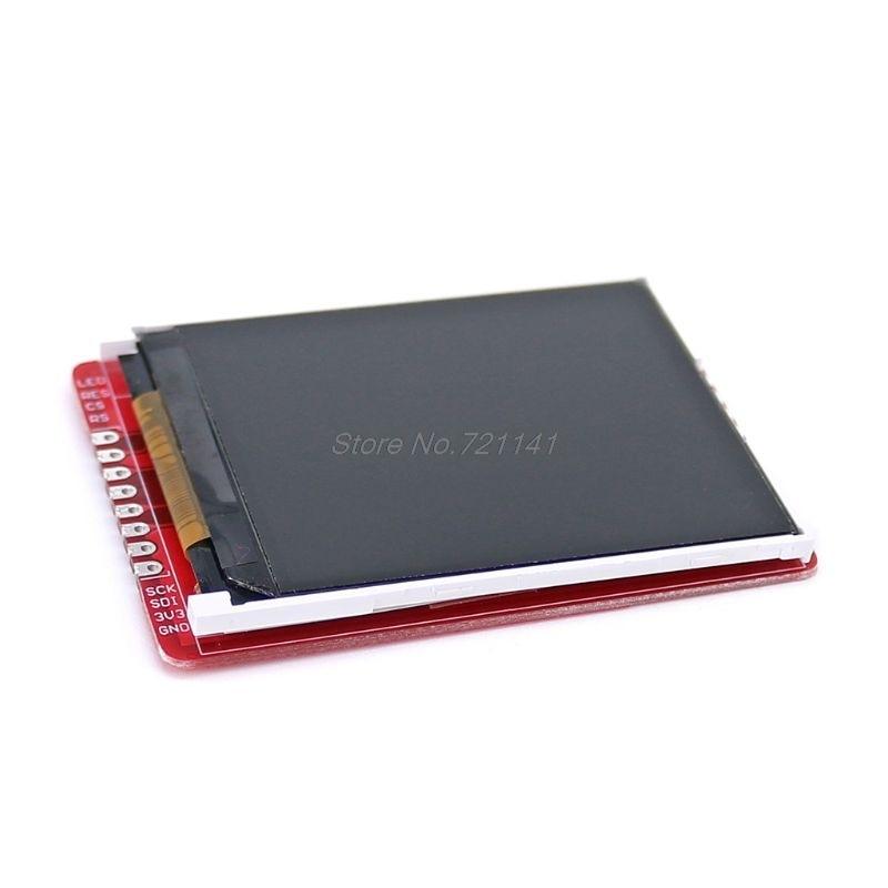 2.2inch 3.3V 176x220 SPI TFT LCD Screen Shield Breakout Board Module With Serial Ports For Pro Mini UNO R3 Mega2560