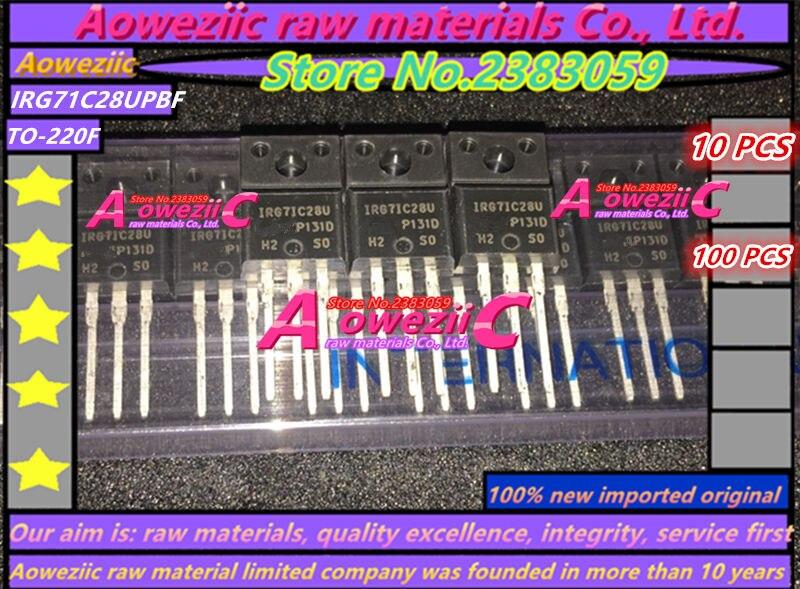 Aoweziic 100%new Imported Original G7IC28U IRG7IC28UPBF G71C28U IRG71C28UPBF IRG7IC28U  IRG71C28U TO-220Ffield-effect Transistor