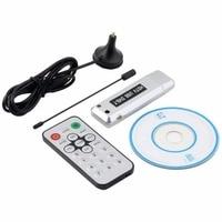 Mini USB DVB-T tuner ricevitore tv DVB T HD TV digitale antenna DVBT HDTV ricevitore satellitare Stick Dongle per Windows 7/Vista