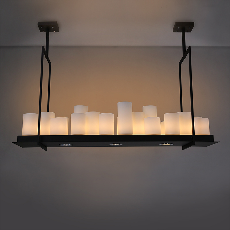 Kevin Reilly Altar Pendant Lights For Dining Living Room Villa Black Loft Industrial Candle Hanging